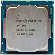 پردازنده CPU اینتل Core i5-7500 3.4GHz FCLGA1151 Kaby Lake TRAY CPU